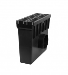 Low Profile Sump Unit B125 Plastic Grate