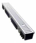 A15 Drainage Channel x 1m Galvanised Grate - Pallet of 84