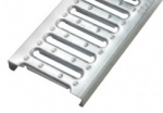 Spare Galvanised Channel Grating x 1m