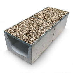 A15 Gravel Top Commercial Drainage Channel x 500mm long