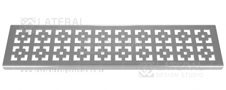 Aquascape 'Geo Squares' Stainless Steel Grate x 900mm