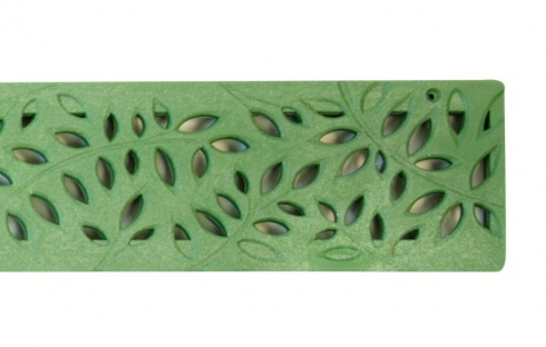 NDS Botanical Decorative Channel Grate Green x 900mm