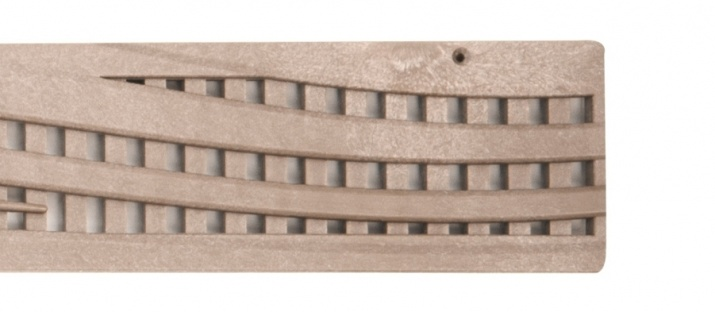 NDS Wave Decorative Channel Grate Sand x 900mm