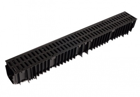 Channel Drain x 1m Plastic Grid CD 422/96