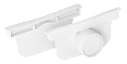 Pegasus End/Outlet Cap (pair) White