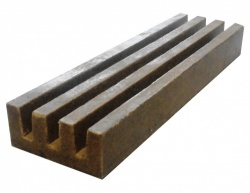 One Piece Multi-Slot Channel Drain x 0.5m