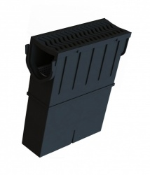 Storm Drain Sump Unit with HDPE Grate STDPSUMP