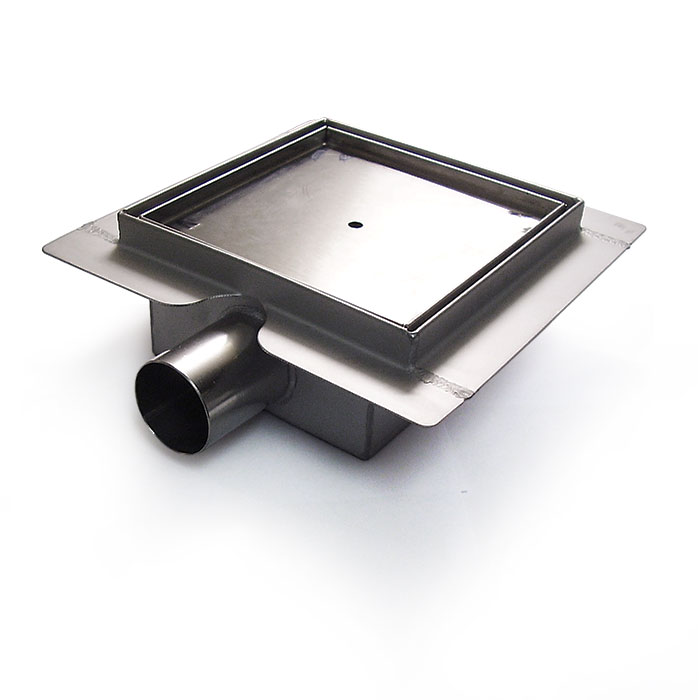 Square Stainless Steel Shower Drain Tile Insert Www Drainage