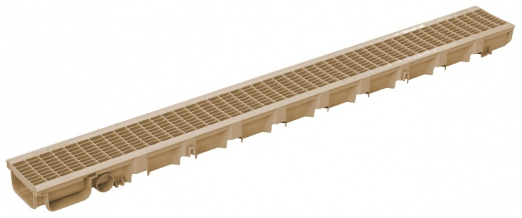 Pegasus 49mm Deep Drainage Channel Sand x 1m