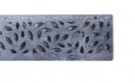 NDS Botanical Decorative Channel Grate Raw Cast Iron x 300mm