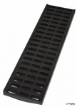 NDS Pro B125 Black Slotted Grate x 500mm