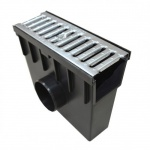Sump Unit for DC908 Channel Galvanised Grate