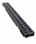 Low Profile Drainage Channel x 1m B125 Plastic Grate