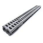 Grey Low Profile Drainage Channel x 1m A15 Plastic Grate