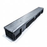 C250 Drainage Channel x 1m Galvanised Steel Grate