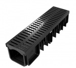 XDrain 130/120 C250 Drainage Channel x 500mm Long Polyamide Grate