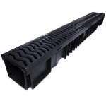A15 Drainage Channel x 1m Plastic Grate - Pallet of 84