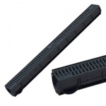 SPark 90mm Midi Channel Plastic Grate x 1m A15