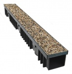 A15 Drainage Channel x 1m Porous Composite Pea Gravel Cover