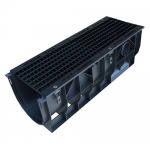 C250 Mega-Channel x 1m Cast Iron Mesh Grate