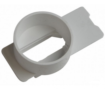 NDS Micro Channel Inline Outlet White